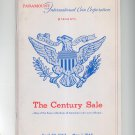 Vintage Paramount International Coin Corporation Presents The Century Sale 1965 New York City