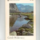 Gentle Wilderness The Sierra Nevada Kauffman & Muir Sierra Club