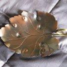 Elegant Coppercraft Guild Leaf Serving Tray Gifts Of Distinction