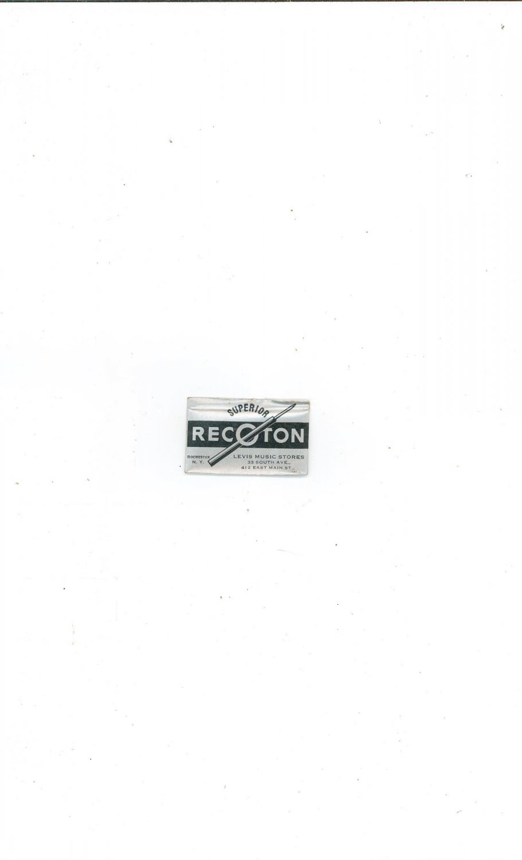 Vintage Superior Recoton Record Needles High Fidelity
