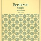 Vintage Beethoven Sonatas For The Piano Student Editions 5009 Schirmer
