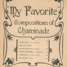 Vintage My Favorite Compositions Of Chaminade Haviland Publishing