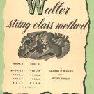 Vintage Waller String Class Method Book 1 Violin
