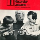 Ralph Zeitlin's BAsic Recorder Lessons Soprano Or Tenor Book 1