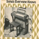 GTR Music Book Library Songs Everyone Knows For All Chord Organs