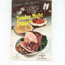 Cooking Magic Series Sunday Night Suppers Cookbook by Culinary Arts Institute Vintage