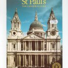 St Paul's The Cathedral Guide Book 0853723877