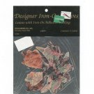 Designer Iron On Leaves Stan Rising Company 4 Large Multi Color Leaves In Package