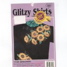 Glitzy Shirts Iron On Sunflowers 77148 In Package