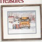 Needle Treasures The Bus Is Here Lu Fuller's Cross Stitch Kit In Package