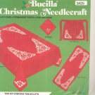 Bucilla Christmas Needlecraft Poinsettia Tablecloth Style 3425 In Package