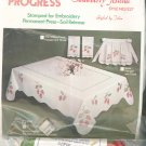Progress Strawberry Festival Tobin Embroidery Tablecloth Style 1227 In Package