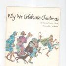 Vintage Why We Celebrate Christmas by Barbara Kinney Hargis United Church Press