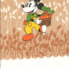 Vintage Walt Disney Productions Mickey Hand Towel