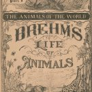 Vintage Brehm's Life Of Animals Part 9 A. N. Marquis Publishers Animals Of The World Not PDF