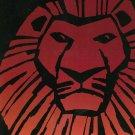 The Lion King The Broadway Musical  Souvenir Program