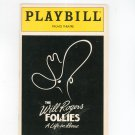 The Will Rogers Follies A Life In Revue Playbill Palace Theatre Souvenir 1991