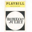 Romeo & Juliet Circle In The Square Theatre Playbill Souvenir 1977