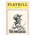 Bubbling Brown Sugar Playbill Anta Theatre 1976 Souvenir