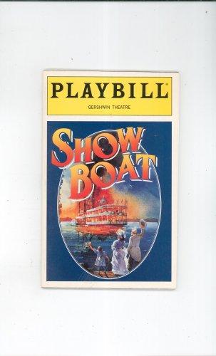 Show Boat Playbill Gershwin Theatre 1994 Souvenir