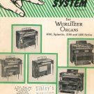 The Pointer System For  The Wurlitzer Organs Number 2