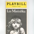 Les Miserables Playbill The Broadway Theatre 1989