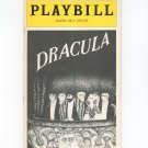 Dracula Martin Beck Theatre Playbill 1978 Souvenir