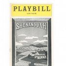 Shenandoah Playbill Alvin Theatre 1975 Souvenir