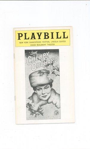 The Cherry Orchard Playbill Vivian Beaumont Theatre 1977 Shakespeare Festival Souvenir