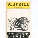 Kennedy's Children Playbill John Golden Theatre 1975 Souvenir