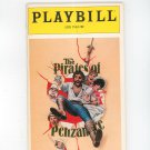 The Pirates Of Penzance Uris Theatre Playbill Souvenir 1981