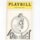 42nd Street Winter Garden Theatre Playbill Souvenir  1981