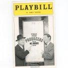 The Producers New Mel Brooks Musical Playbill St. James Theatre 2002 Souvenir