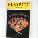 The Secret Garden Playbill St. James Theatre 1991 Souvenir