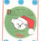 Vintage Sibley's Department Store Story Of Snowball Christmas Story Coloring Book