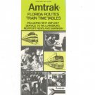 Vintage Amtrak Florida Routes Train Timetables 1976 Not PDF