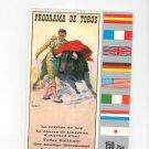 Programa De Toros Today Bullfight Souvenir