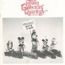 Vintage The Train Collectors Quarterly April 1971 Convention Disneyland Not PDF