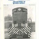 Vintage The Train Collectors Quarterly April 1968  Not PDF