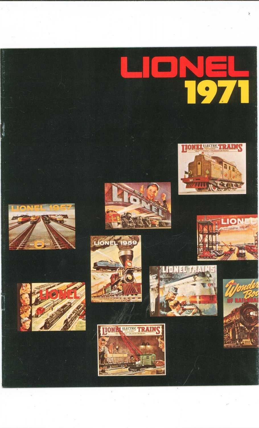 Vintage Lionel Trains Catalog 1971 Not PDF Free Shipping Offer