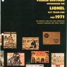 Vintage Parker Introduces 027 Lionel Trains Catalog 1971 Not PDF Free Shipping Offer