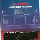 Vintage Lionel 1987 Spring Preview Trains Brochure 1987 Not PDF Free Shipping Offer