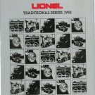 Vintage Lionel Traditional Series Trains Catalog 1983 Not PDF Free Shipping Offer