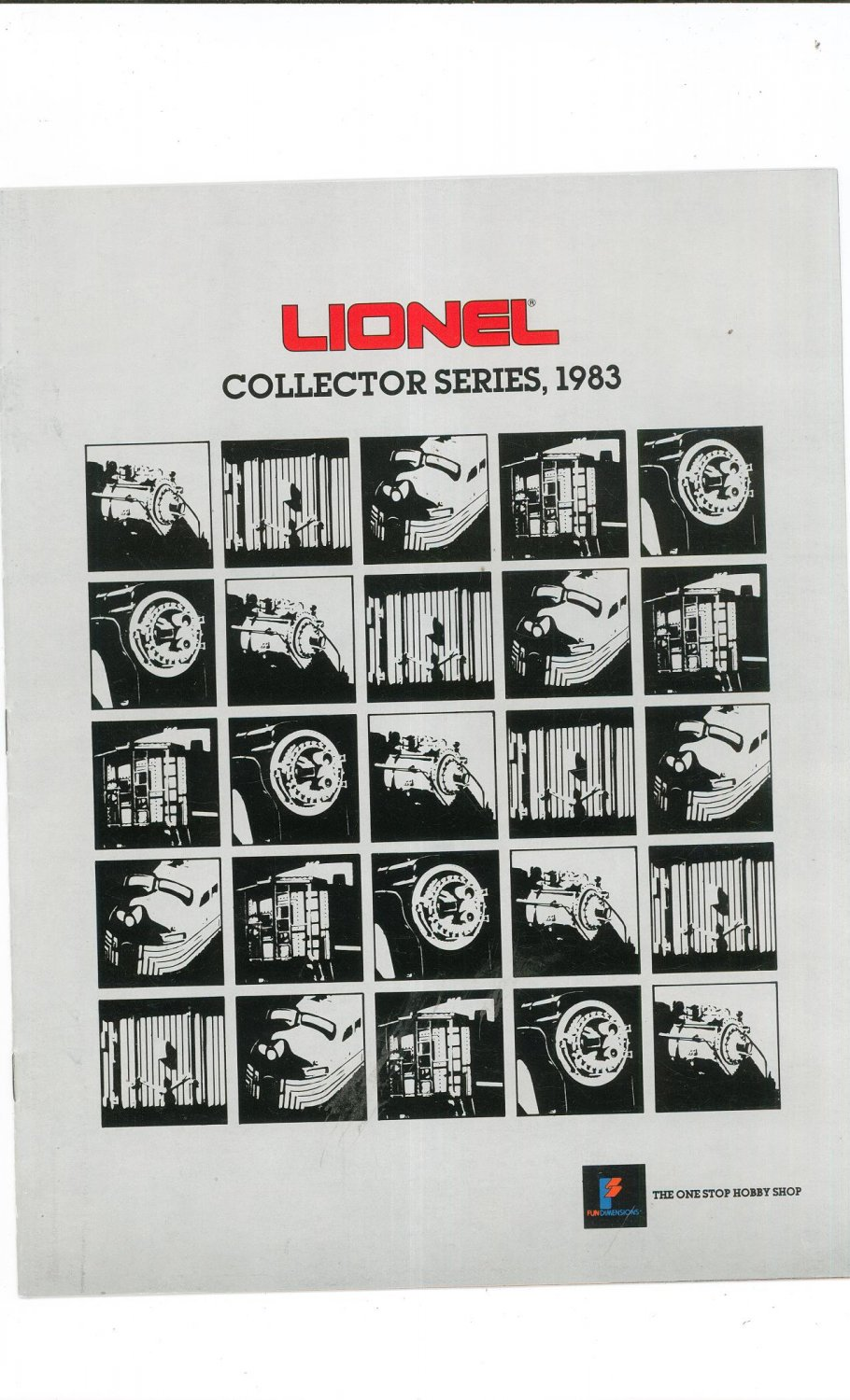 Vintage Lionel Collector Series Trains Catalog 1983 Not PDF Free Shipping Offer