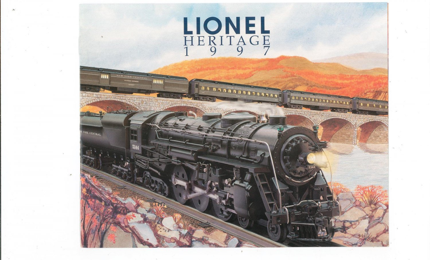 Lionel Heritage Trains Catalog 1997 Not PDF Free Shipping Offer