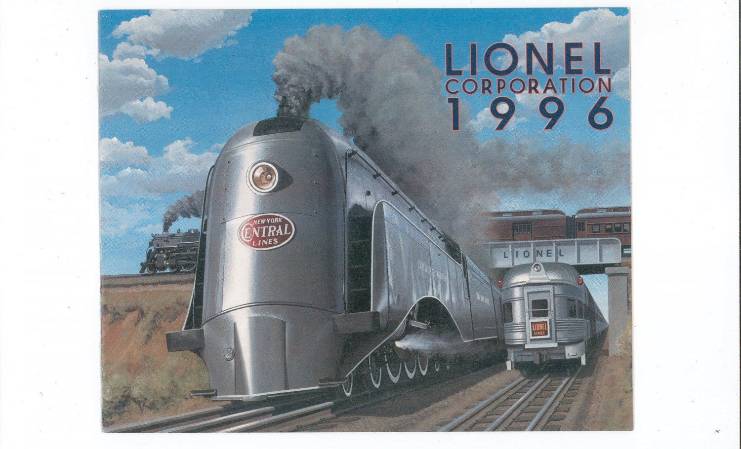 Lionel Corporation Trains Catalog 1996 Not PDF Free Shipping Offer