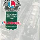 Lionel 1990 Stocking Stuffers Brochure Not PDF Free Shipping Offer