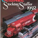 Lionel 1992 Stocking Stuffers Brochure Not PDF Free Shipping Offer