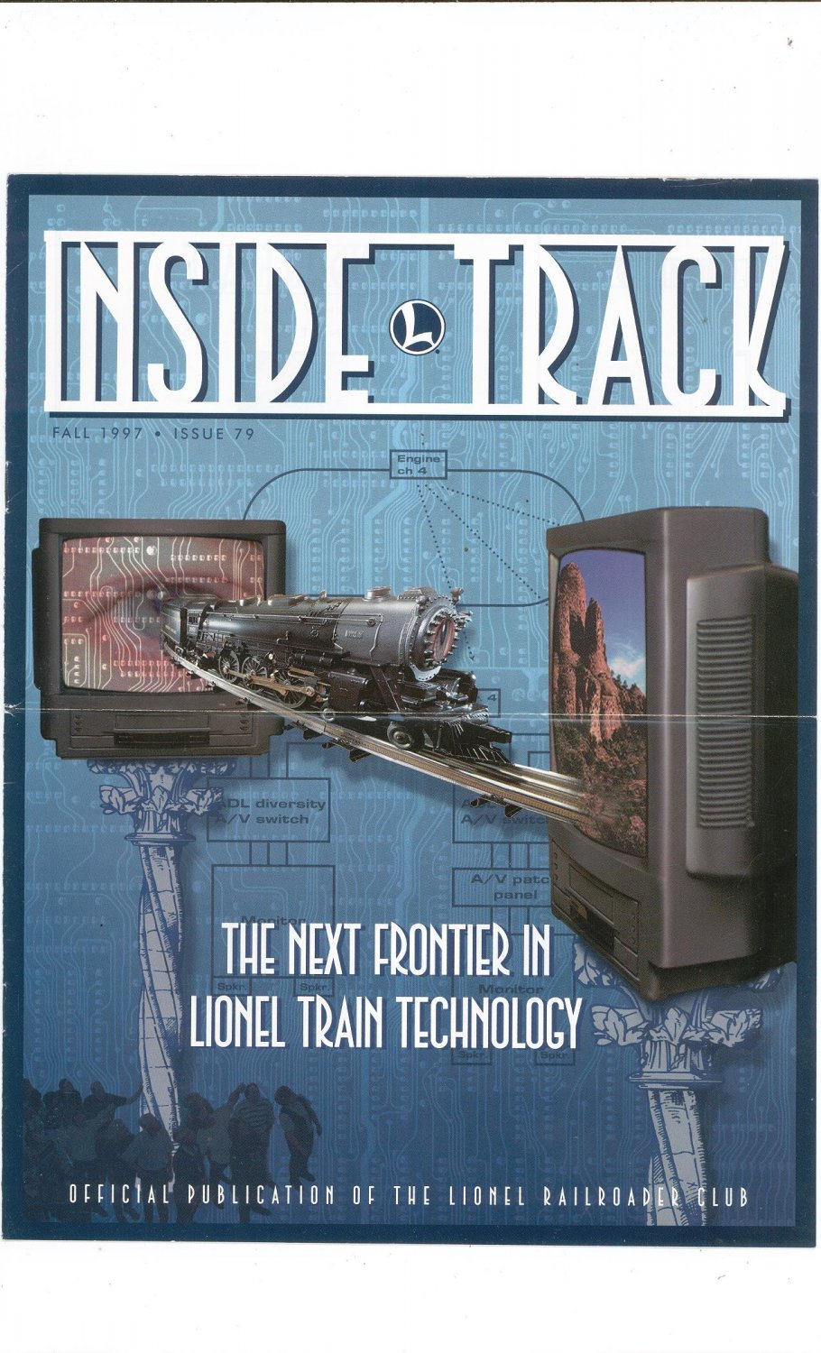Lionel Railroader Club Inside Track Fall 1997 Issue 79 Not PDF Train Free Shipping Offer