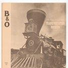 Vintage Baltimore And Ohio Transportation Museum B&O Train Souvenir Book Railroad